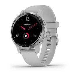Смарт-часы Garmin Venu 2S, Wi-Fi, GPS, серебристые с силиконовым ремешком (010-02429-12) #6