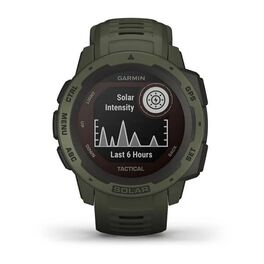 Защищенные GPS-часы Garmin Instinct Tactical, Solar, цвет Moss (010-02293-04) #9
