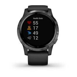 Смарт часы Garmin Vivoactive 4 черные с серым безелем (010-02174-13) #7