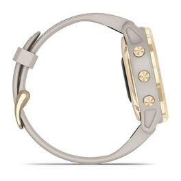 Мультиспортивные часы Garmin Fenix 6S Pro Solar GPS, золотистый с песочным ремешком (010-02409-11) #3