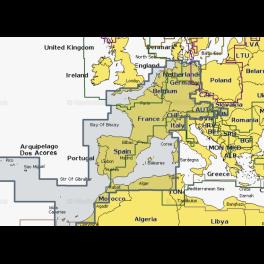 Карта navionics 43xg Средиземное море, Черное море (43xg medit. & black sea). Артикул: 43XG MEDIT. & BLACK SEA