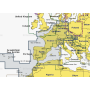 Карта navionics 43xg Средиземное море, Черное море (43xg medit. & black sea) Navionics. Артикул: 43XG MEDIT. & BLACK SEA