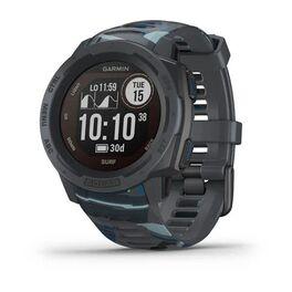 Защищенные gps-часы garmin instinct surf, solar, цвет pipeline. Артикул: 010-02293-07