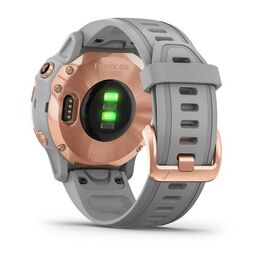 Мультиспортивные часы Garmin Fenix 6S Sapphire с GPS, розов.золото с серым ремешком (010-02159-21) #8