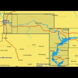 Карта navionics 5g627s2 Волга от Н.Н. до Ульяновска (5g627s2). Артикул: 5G627S2