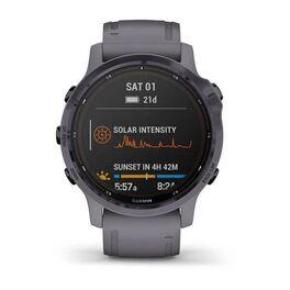 Мультиспортивные часы Garmin Fenix 6S Pro Solar GPS, аметистовый с темно-серым ремешк (010-02409-15) #6