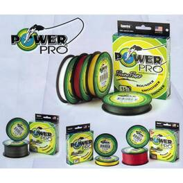 Леска плетеная Power Pro 92м Hi-Vis Yellow 0,15 (PP092HVY015) #2