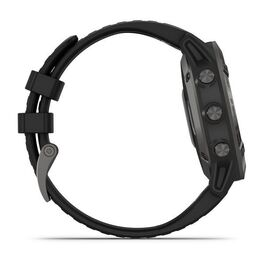 Мультиспортивные часы Garmin Fenix 6 Sapphire с GPS, серые с черным ремешком (010-02158-11) #4