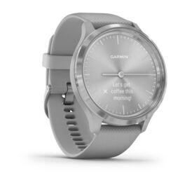 Часы с трекером активности Garmin VivoMove 3, серебр. с серым силиконовым ремешком (010-02239-20) #2