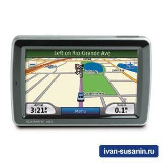 Nuvi 5000 - большой GPS навигатор для больших автомобилей