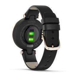 Фэшн смарт-часы Garmin Lily CreamGold Black Leather (010-02384-B1) #5