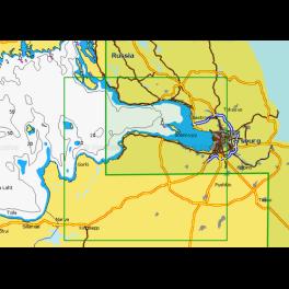 Карта navionics 5g295s Финский залив, Нева (5g295s). Артикул: 5G295S