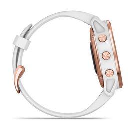 Мультиспортивные часы Garmin Fenix 6S PRO с GPS, розов.золото с белым ремешком (010-02159-11) #4