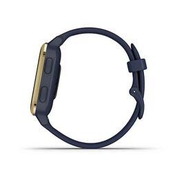 Смарт-часы Garmin Venu Sq NFC Music с золотистым безелем и синим ремешком (010-02426-12) #6