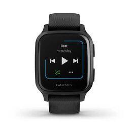 Смарт-часы Garmin Venu Sq NFC Music черные с серым (010-02426-10) #2