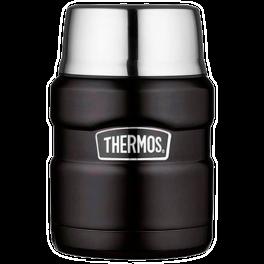 Термос из нержавеющей стали для еды thermos sk3000-bk king food jar, 0.470l. Артикул: 918109