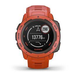Защищенные GPS-часы Garmin Instinct, цвет Flame Red (010-02064-02) #1