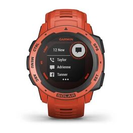 Защищенные GPS-часы Garmin Instinct Solar, цвет Flame Red (010-02293-20) #6