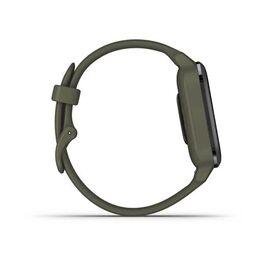 Смарт-часы Garmin Venu Sq NFC Music с серым безелем и темно-зеленым ремешком (010-02426-13) #3
