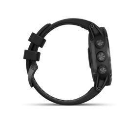Мультиспортивные часы Garmin Fenix 5x PLUS Sapphire RUSSIA черные с черным ремешком (010-01989-11) #4