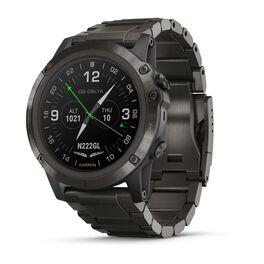 garmin d2 delta px смарт-часы для пилотов с титановым dlc ремешком. Артикул: 010-01989-31