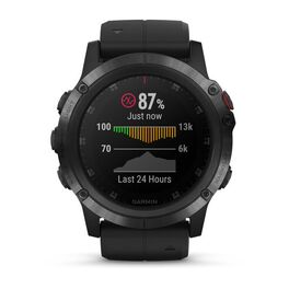 Мультиспортивные часы Garmin Fenix 5x PLUS Sapphire RUSSIA черные с черным ремешком (010-01989-11) #3