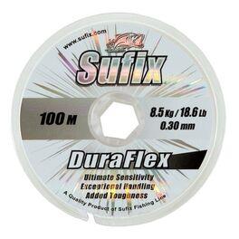 Леска Sufix Duraflex x10 прозрачная 100м 0.14мм, 2,4кг (DS1SK016024A9D) /минимальная партия 10шт./ #2