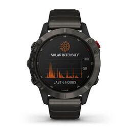 Мультиспортивные часы Garmin Fenix 6 Pro Solar с GPS, титан. DLC титан.ремешком (010-02410-23) #5