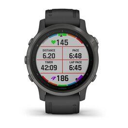 Мультиспортивные часы Garmin Fenix 6S Sapphire с GPS, серые с черным ремешком (010-02159-25) #5