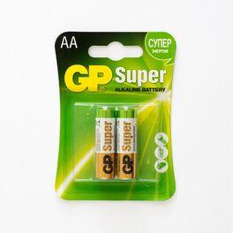Батарейка gp lr-6 super alkaline /2 бл (цена за блистер 2шт.). Артикул: N_GP LR-6 Super Alkaline /2 бл