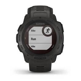 Защищенные gps-часы garmin instinct solar, цвет graphite. Артикул: 010-02293-00