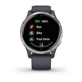 Смарт-часы Garmin Venu, Wi-Fi, Blue Granite/Silver с GPS (010-02173-03) #3