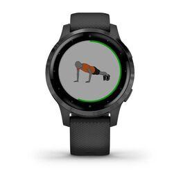 Смарт часы Garmin Vivoactive 4S светло-серые с серебристым безелем (010-02172-03) #5