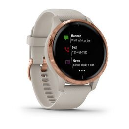 Смарт-часы Garmin Venu, Wi-Fi, Sand/Rose Gold с GPS (010-02173-23) #1