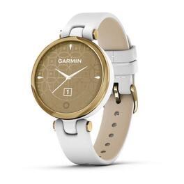 Фэшн смарт-часы garmin lily lightgold white leather (010-02384-b3). Артикул: 010-02384-B3