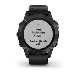 Мультиспортивные часы Garmin Fenix 6 PRO с GPS, черные с черным ремешком (010-02158-02) #7