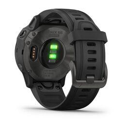 Мультиспортивные часы Garmin Fenix 6S Sapphire с GPS, серые с черным ремешком (010-02159-25) #8
