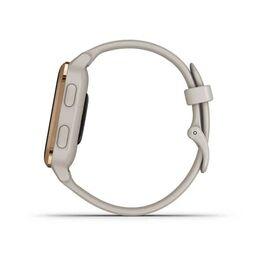 Смарт-часы Garmin Venu Sq NFC Music с золотистым безелем и песочным ремешком (010-02426-11) #6