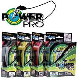 Леска плетеная Power Pro 135м Hi-Vis Yellow 0,06 (PP135HVY006) #8