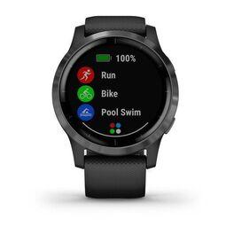 Смарт часы Garmin Vivoactive 4 черные с серым безелем (010-02174-13) #2