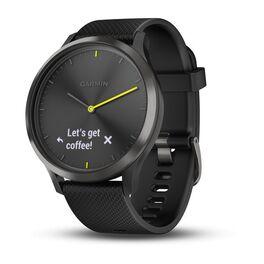 Смарт-часы garmin vivomove hr черные с черным ремешком. Артикул: 010-01850-21