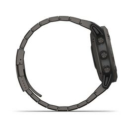 Мультиспортивные часы Garmin Fenix 6 Pro Solar с GPS, титан. DLC титан.ремешком (010-02410-23) #3
