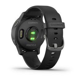 Смарт часы Garmin Vivoactive 4S светло-серые с серебристым безелем (010-02172-03) #6