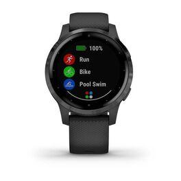 Смарт часы Garmin Vivoactive 4S светло-серые с серебристым безелем (010-02172-03) #3