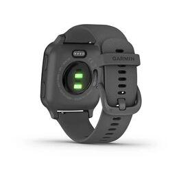 Смарт-часы Garmin Venu Sq NFC серые с серым силиконовым ремешком (010-02427-10) #5