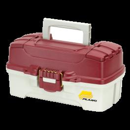 Ящик plano 6201 с одноуровневой системой хранения приманок и двумя боковыми отсеками на крышке (6201-06). Артикул: 1571061
