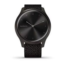 Часы с трекером активности Garmin VivoMove Style графит с плетеным черн. ремешком (010-02240-23) #7
