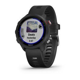 Спортивные часы garmin forerunner 245 music, gps, wi-fi, black/red. Артикул: 010-02120-30