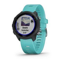 Спортивные часы garmin forerunner 245 music, gps, wi-fi, black/aqua. Артикул: 010-02120-32