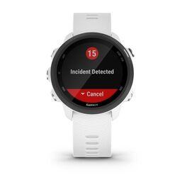 Спортивные часы Garmin Forerunner 245 Music, GPS, Wi-Fi, Black/White (010-02120-31) #1